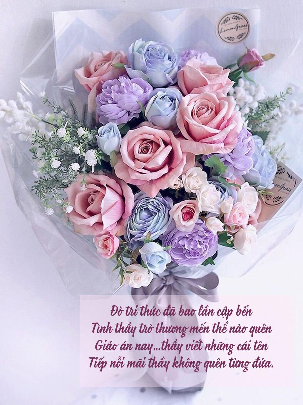 Bài thơ 20/11 về thầy cô, thích hợp viết báo tường chào mừng ngày Nhà giáo Việt Nam