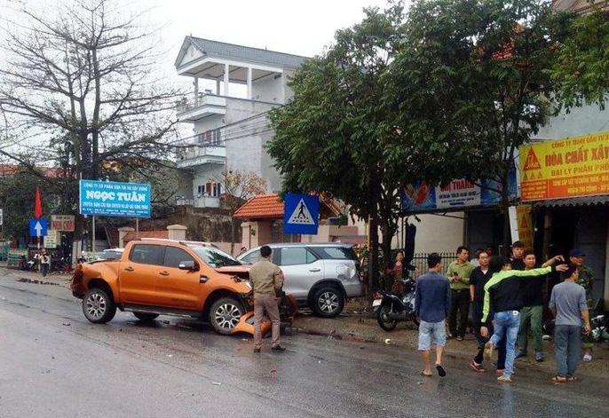 xe container gay tai nan lien hoan nghiem trong 8 nguoi thuong vong