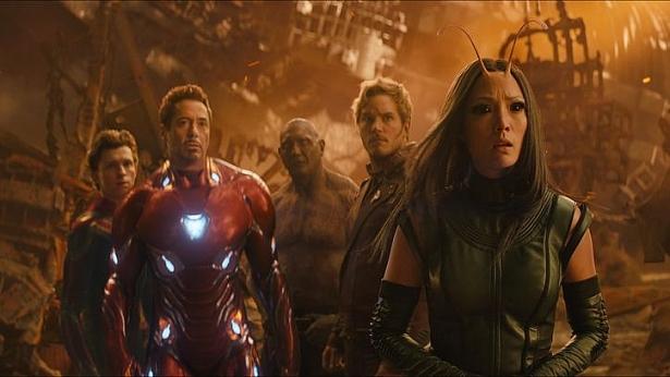 review phim avengers infinity war dau cham lung hoan hao cho nghiep phim sieu anh hung
