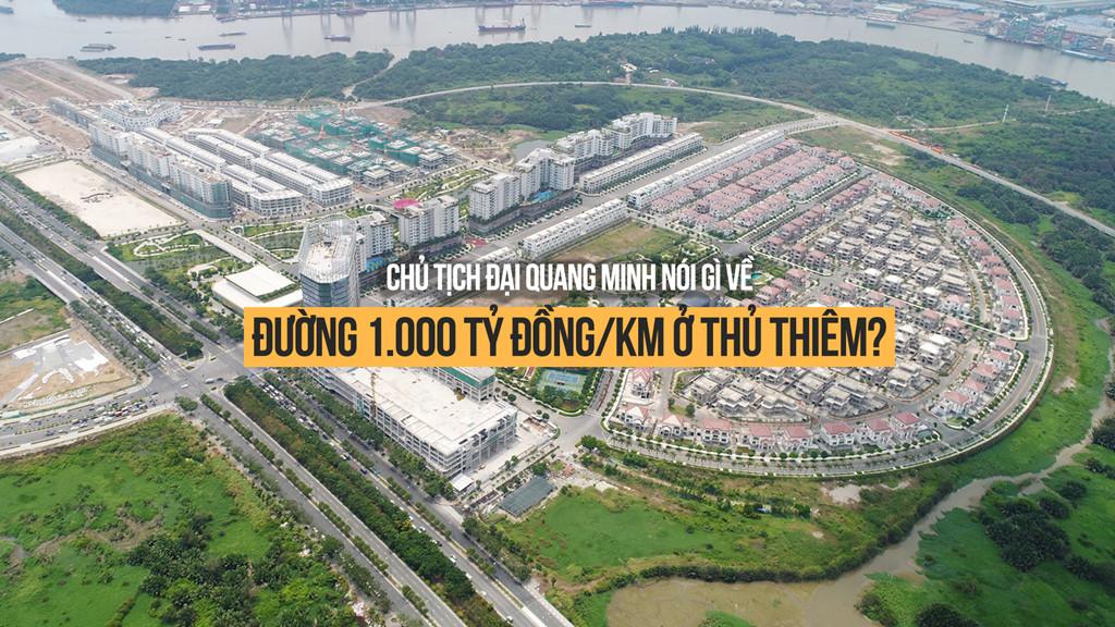 chu tich dai quang minh noi gi ve duong 1000 ty dongkm o thu thiem 101123