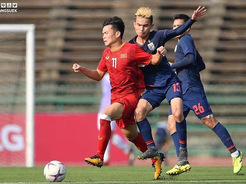 f4e0fbfc2a4a6 U22 Việt Nam vs U22 Campuchia  Trong cái rủi có cái may!