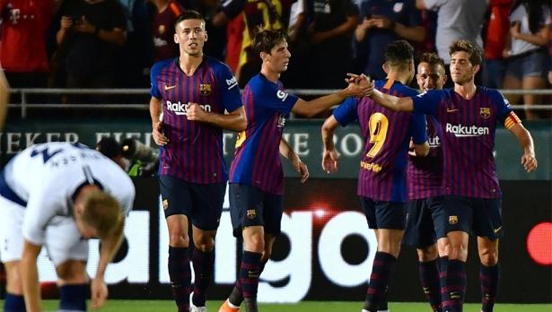 tong thuat ket qua international champions cup barcelona vs tottenham khong messi van dang xem