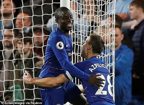 truc tiep chelsea vs manchester city ht kante lap cong london day song